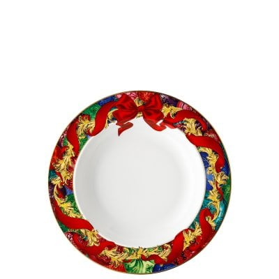 Plate deep 22 cm Versace Reflections Holidays