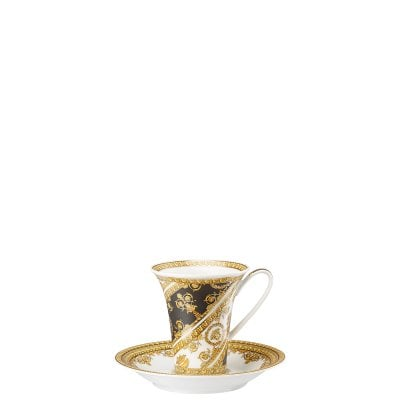 Cup/Saucer 4 tall Versace I Love Baroque