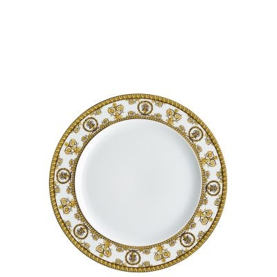 Plate 22 cm Versace Baroque Bianco