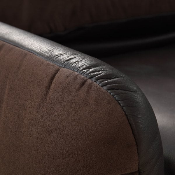 Suite UP & DOWN Dark Brown Fabric/Leather