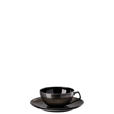 Cup/Saucer 4 low TAC Gropius Stripes