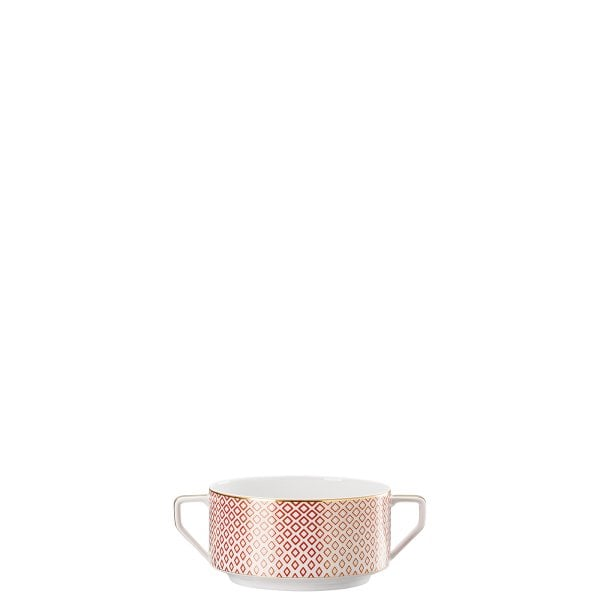 Tazza brodo senza piattino Francis Carreau Rouge