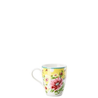 Mug with handle Springtime Flowers Sun