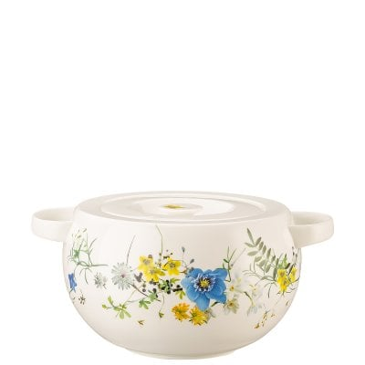 Covered vegetable bowl Brillance Fleurs des Alpes