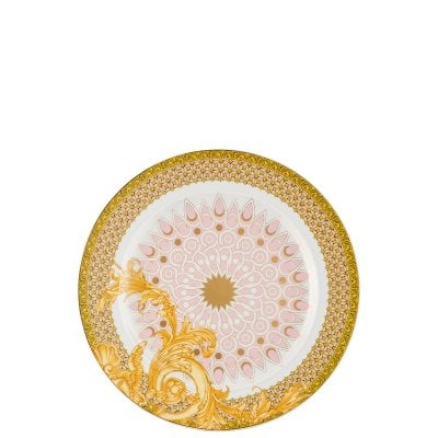 Plate flat 22 cm / 25 years Versace Les reves Byzantins