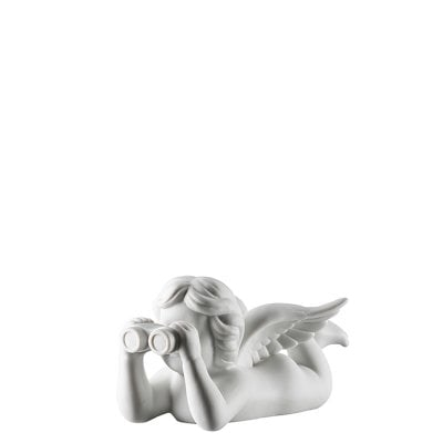 Angel with binoculars Angel middle White-mat