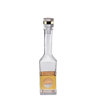 Vodka decanter Medusa Madness Oro