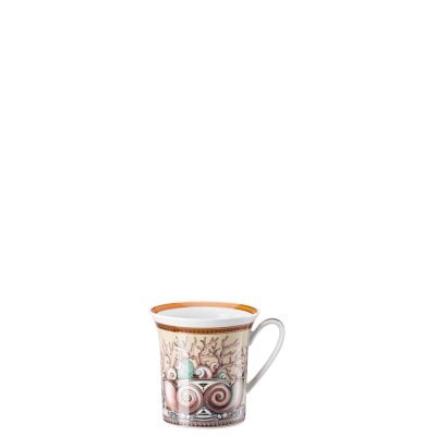 Mug with handle Versace Étoiles de Mer, beige
