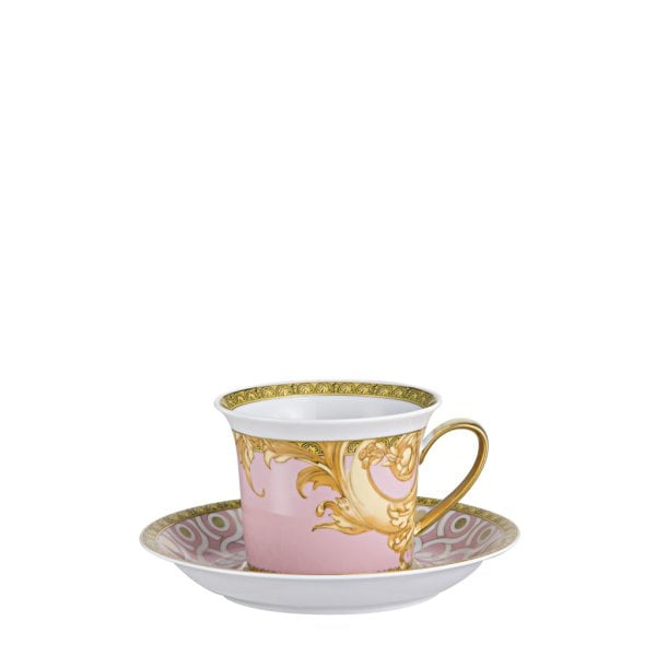 Cappuccino cup & saucer Versace Les reves Byzantins