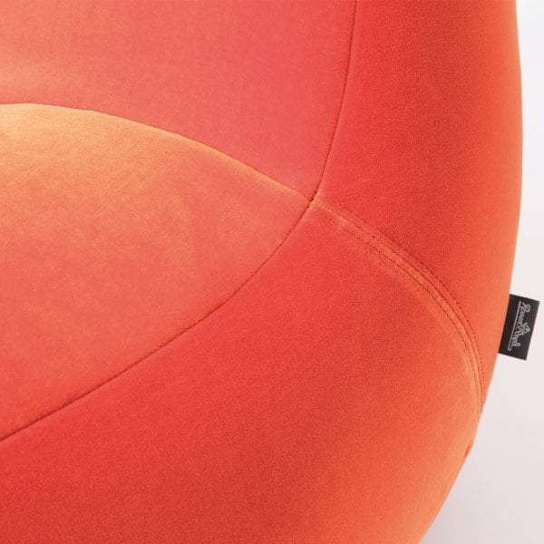 Easy Chair SCOOP Orange Fabric