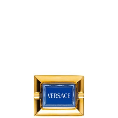 Ashtray 13 cm Versace Medusa Rhapsody Blue