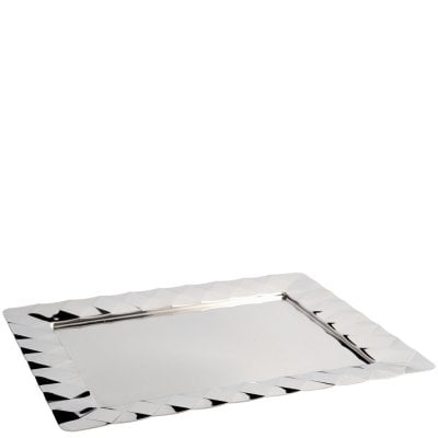 Rectangular tray cm 48x38 Malia Stainless steel