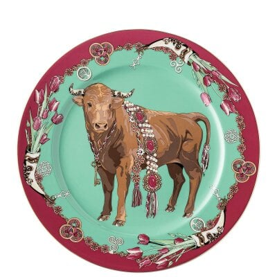 Service Plate 30 cm Zodiac 2021 Year of the Ox