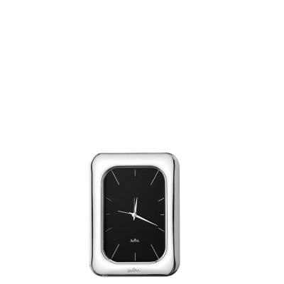 Table-clock 10 x 15 cm Silver Collection Finesse