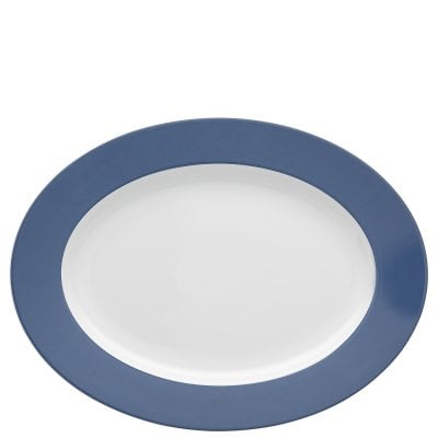 Plat 33 cm Sunny Day Nordic Blue
