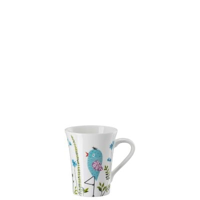 Mug with handle My Mug Collection Birdie - Blue