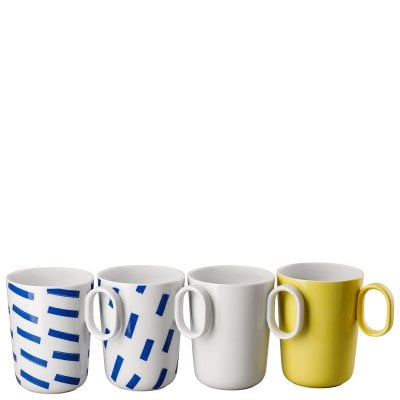 Set 4 Becher mit Henkel ONO friends Mixed