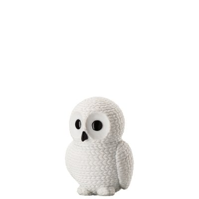 Owl medium Pets -Owl Snow white White