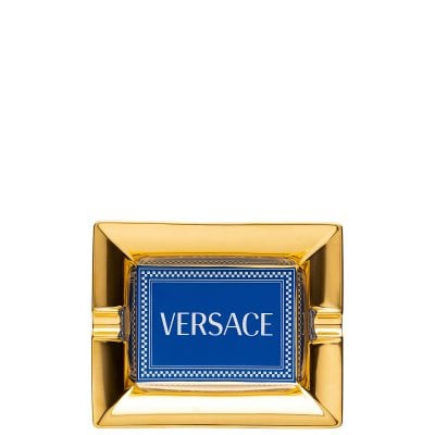 Ashtray 16 cm Versace Medusa Rhapsody Blue