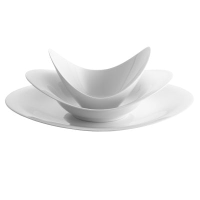 Set 3 pcs. A La Carte-Scoop White