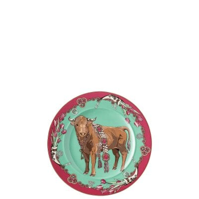 Wall Plate 18 cm Zodiac 2021 Year of the Ox