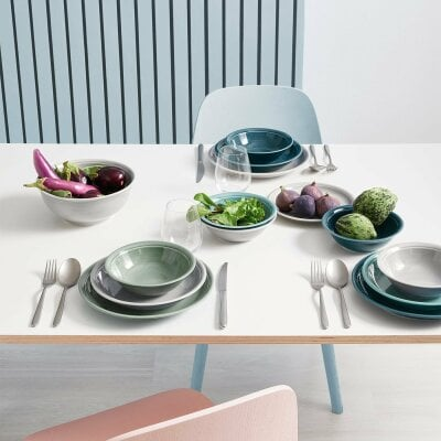 Egg Cup Trend Colour Moss Green