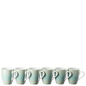 Thomas Colour Game Pastel Set of 6 mugs with handle