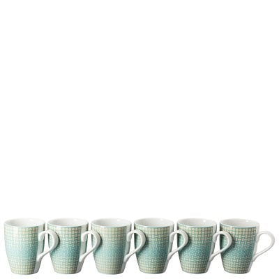 Set of 6 mugs with handle Thomas Colour Game Pastel