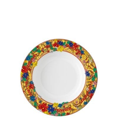 Plate deep 22 cm Versace Holiday Alphabet