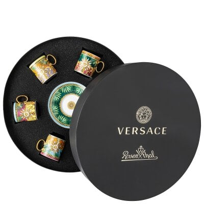 Set 6 tasses Espresso Versace Jungle Animalier