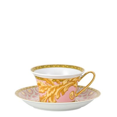 Cup & saucer 4 low Versace Les reves Byzantins