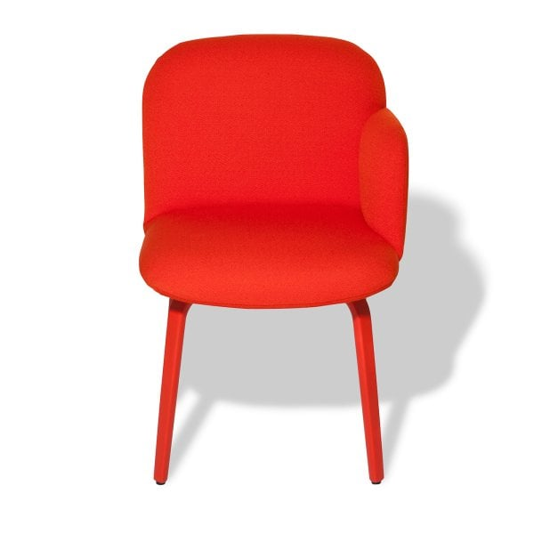 Chair armrest right BOLBO Orange Fabric