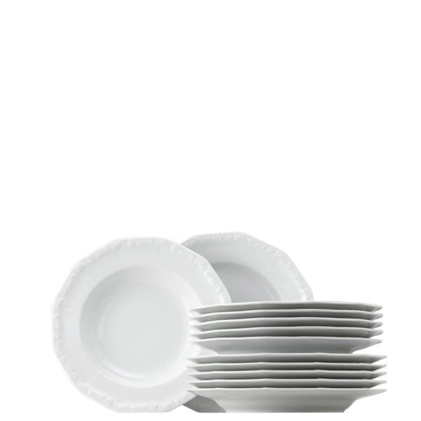 Dinner set 12 pcs. Maria White
