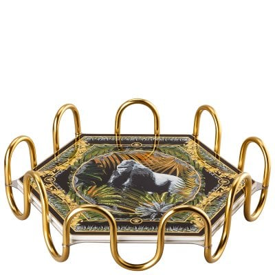 Tray 31 x 27 cm 2 pcs. Le Règne Animal Bob