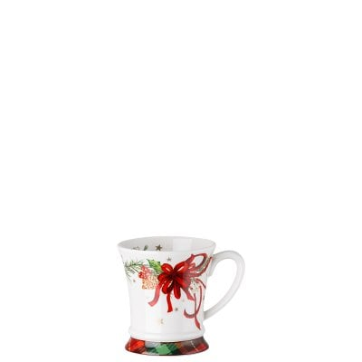 Mug with handle Cozy Winter decorated
