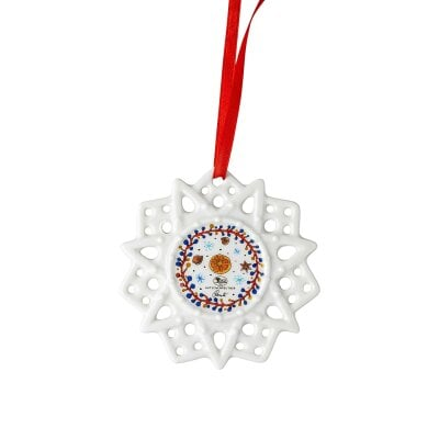 Star ornament Sammelkollektion 20 Kinder mit Stern