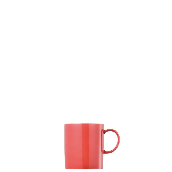 Mug with handle Sunny Day New Red