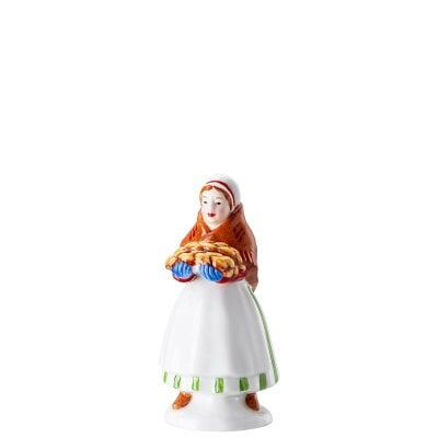 Market woman Figurines Christmas bakery