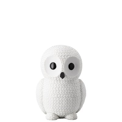 Owl large Pets -Owl Snow white White