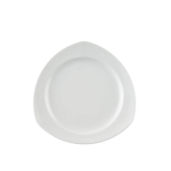 Assiette plate 22 cm angulaire Vario Pure