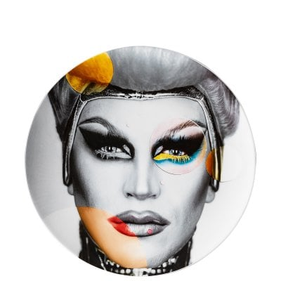 Collector´s plate 28 cm Martin Schoeller Drag Queen #6