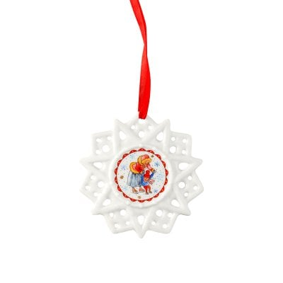 Star ornament Sammelkollektion 2018 Winterfreuden-Eisteich