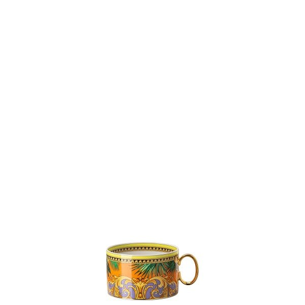 Teetasse 2-tlg. Versace Jungle Animal.Yellow