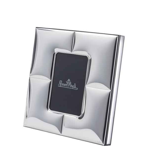 Cadre/lampe 9 x 13 cm Silver Collection Charge - quadratisch