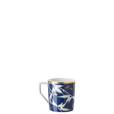 Mug with handle Rosenthal Heritage Turandot blue