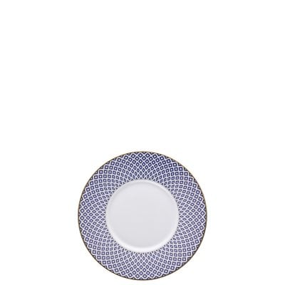 Saucer 4 low Francis Carreau Bleu