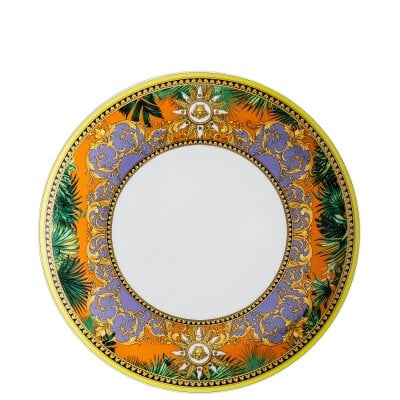 Assiette plate 28 cm Versace Jungle Animalier