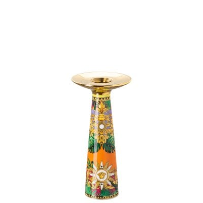 Vaso/porta candele 20 cm Versace Jungle Animalier