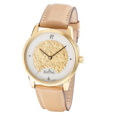 Wrist watch Lady Magic Garden gold-gold-brown