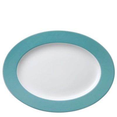 Platter 33 cm Sunny Day Turquoise